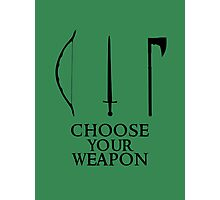 Lord of the Rings: Choose Your Weapon Photographic Print