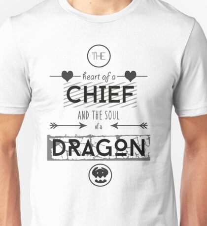 "How To Train Your Dragon 2 ""Heart of a Chief"" Unisex T-Shirt"
