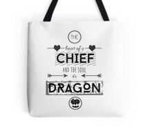"How To Train Your Dragon 2 ""Heart of a Chief"" Tote Bag"