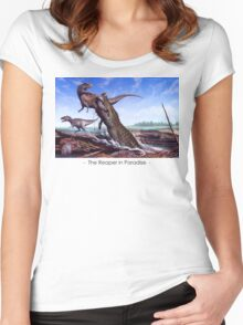 Reaper in Paradise Women's Fitted Scoop T-Shirt