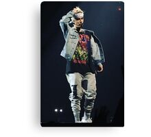 justin purpose tour fresno  Canvas Print
