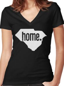 Home State Series | South Carolina Women's Fitted V-Neck T-Shirt