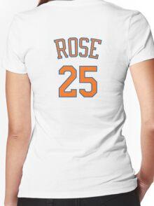 Derrick Rose - New York Knicks Women's Fitted V-Neck T-Shirt