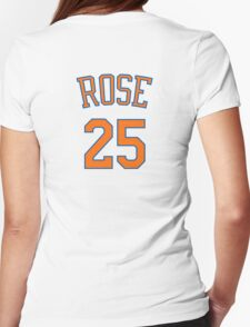 Derrick Rose - New York Knicks Womens Fitted T-Shirt