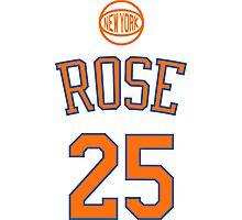 Derrick Rose - New York Knicks Photographic Print