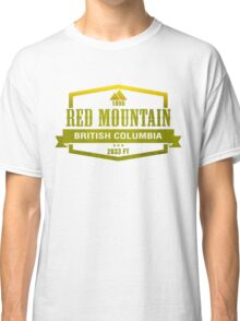 Red Mountain Ski Resort British Columbia Classic T-Shirt