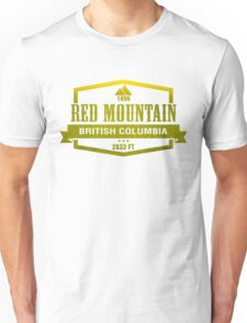 Red Mountain Ski Resort British Columbia Unisex T-Shirt