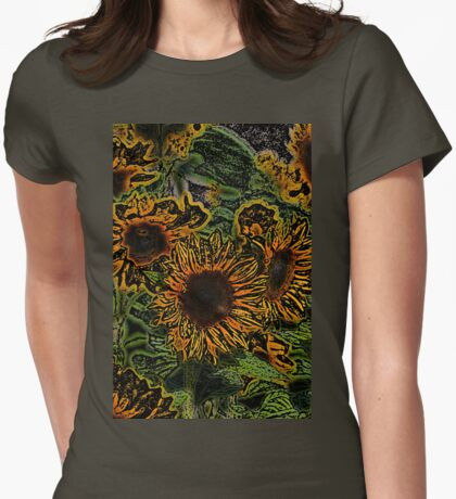 Sunflower 18 Womens Fitted T-Shirt