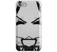 Tree Face I BW SQ iPhone Case/Skin