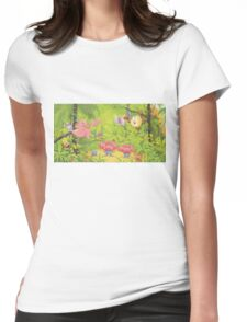 pokemon southern islands artwork 3 Womens Fitted T-Shirt