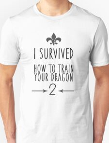 I Survived How To Train Your Dragon 2 T-Shirt