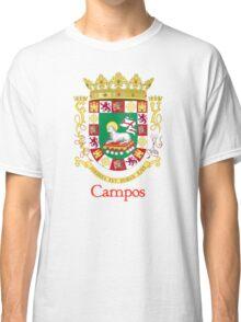 Campos Shield of Puerto Rico Classic T-Shirt
