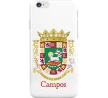 Campos Shield of Puerto Rico iPhone Case/Skin