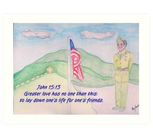 For our Fallen Soldiers Art Print