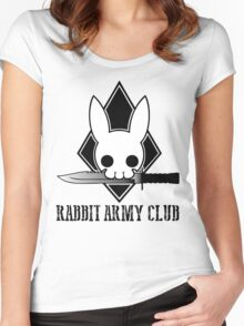 Rabbit Army Club Women's Fitted Scoop T-Shirt