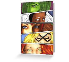 Marvelous Eyes Greeting Card