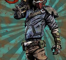 BorderLands 2 Bandit by crizzil