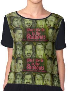 What We Do In The Shadows Chiffon Top