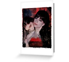 Deadly Vampire Greeting Card