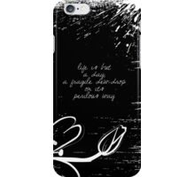 Keats - Poetry iPhone Case/Skin