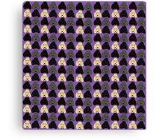 Pixel Poodles! Canvas Print
