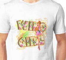 Wild Girl Orange - Flora Unisex T-Shirt