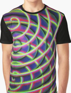 Painted Spirals 2 Graphic T-Shirt
