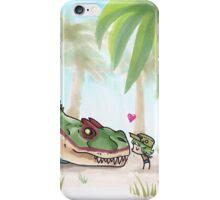 Hello, Albertosaurus! iPhone Case/Skin