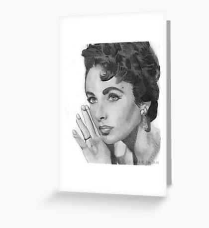 Just Elisabeth Greeting Card