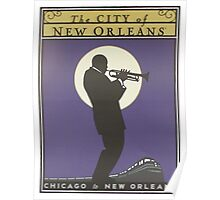 Vintage poster - City of New Orleans Poster