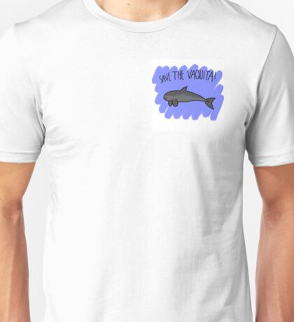 Save the Vaquita Unisex T-Shirt