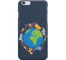 We Love Our Planet ! iPhone Case/Skin