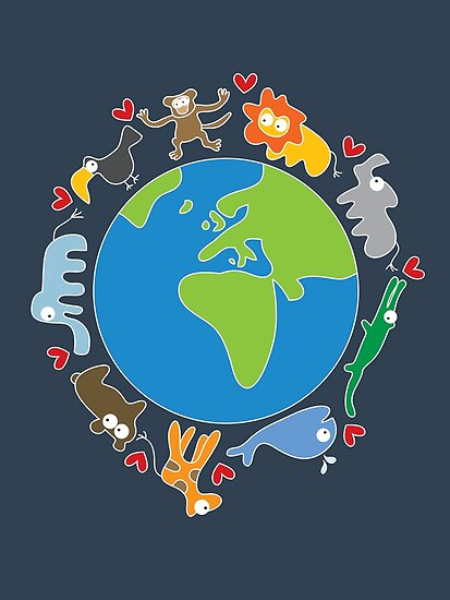 We Love Our Planet ! by fatfatin