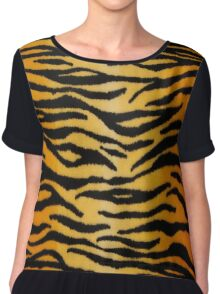 Animal Print 2 Chiffon Top