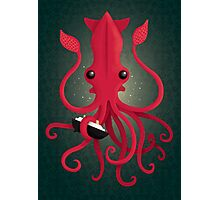 Kraken Attaken Photographic Print