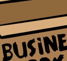 Business Box Sticker