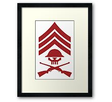 Sgt Hatred - The Venture Brothers Framed Print