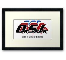 OSI - Office of Secret Intelligence Framed Print