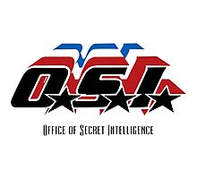 OSI - Office of Secret Intelligence Photographic Print