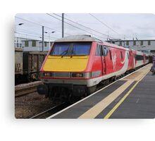 Virgin Trains East Coast 91108 at Peterborough Canvas Print