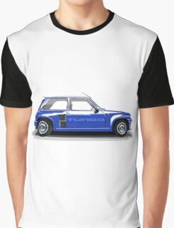 Renault 5 Turbo (blue) Graphic T-Shirt