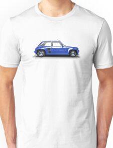 Renault 5 Turbo (blue) Unisex T-Shirt
