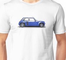 Renault 5 Turbo (blue) Unisex T-Shirt