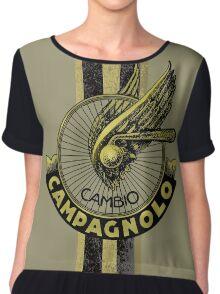 Campagnolo Cambio Italian Stripe Chiffon Top