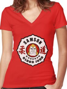 Brock Samson - Blood Judo - The Venture Brothers Women's Fitted V-Neck T-Shirt