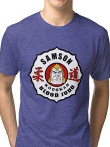 Brock Samson - Blood Judo - The Venture Brothers Tri-blend T-Shirt