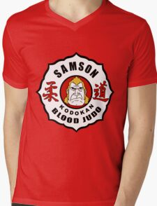 Brock Samson - Blood Judo - The Venture Brothers Mens V-Neck T-Shirt