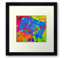 Call Box Chaos Framed Print