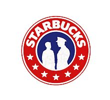 Starbucks (steve/bucky) pillow/tote by SevLovesLily