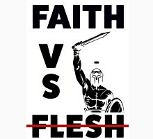 Faith VS Flesh Unisex T-Shirt